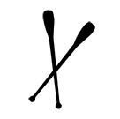 I Rytmisk sportgymnastik kan man använda sig av Käglor